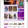e-commerce site UI design (Lia Fashion)